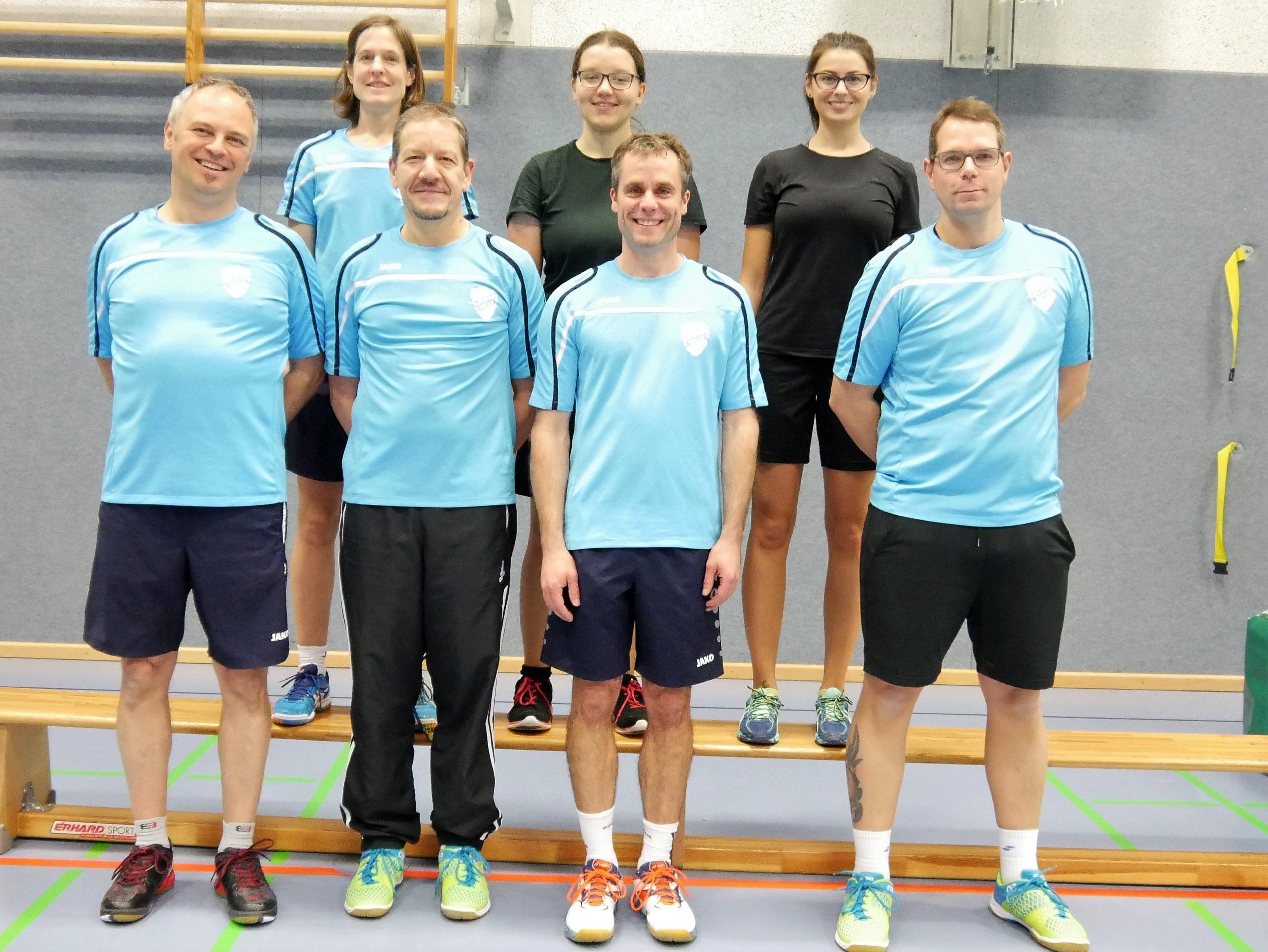 Gruppenbild vor dem Spiel beim STV Siegburg 5
