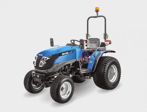 Der Traktor auf dem Weg nach Spich!