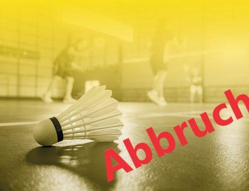 Badminton Mannschaftssaison 2020/2021 offiziell beendet