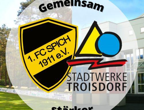 Stadtwerke Troisdorf & 1. FC Spich verlängern die Zusammenarbeit